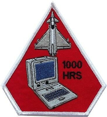 RAF Eurofighter Typhoon Spearhead 1000 Hours Embroidered Patch