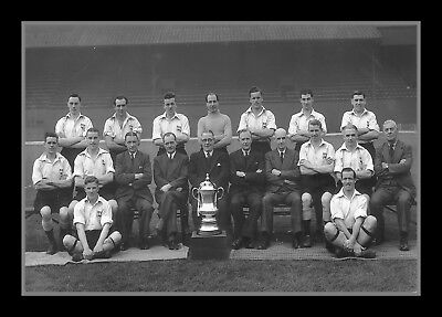 Photograph/Print/7 x 5 Photo/Derby County/FA Cup Winners 1946/Cup Final/Wembley