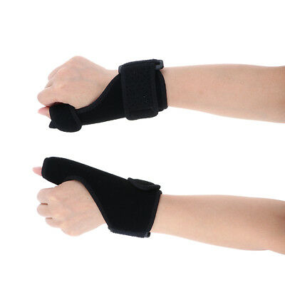 1 Pair Wrist Brace Support Carpal Tunnel Hand Thumb Splint for Sprain Pain