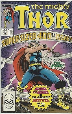 Mighty Thor #400 1989 Marvel Comics
