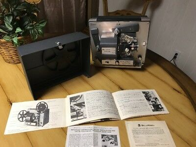 VTG Bell & Howell Autoload Super 8 Projector Model 357B W-Instruction Booklet