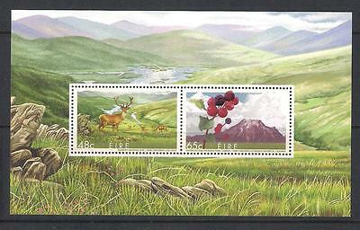 Ireland Eire mint stamps - 2005 Biospheres Reserves Minisheet, MS1737, MNH