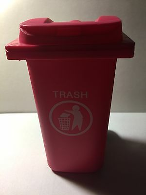 Toy Bin The Mini Curbside Trash Recycle Can Organizer(Pink)