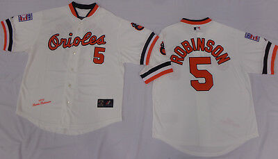 wholesale dealer 57b2d 5cee9 BALTIMORE ORIOLES BROOKS Robinson Cooperstown Collection Throwback Jersey