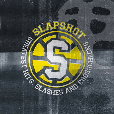 "Slapshot - Greatest Hits, Slashes and Crosschecks LP+7"" limited to 500! SSD"