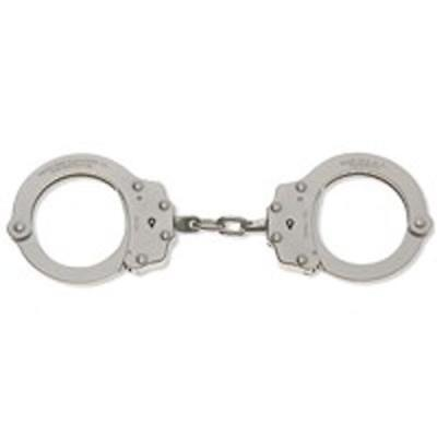Peerless Handcuff 4710 Model 700N Chain Link Nickel Police Handcuffs