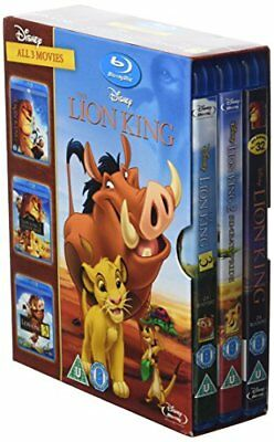 Lion King BD Trilogy Magical Gifts [Blu-ray] [Region Free] -  CD MQVG The Fast
