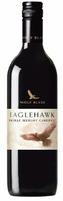 Wolf Blass Eaglehawk Shiraz Merlot Cabernet Sauvignon 2017 (6 x 750mL) SEA