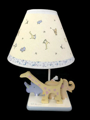 Carters John Lennon Real Love Baby Nursery Lamp Light Zoo Animals