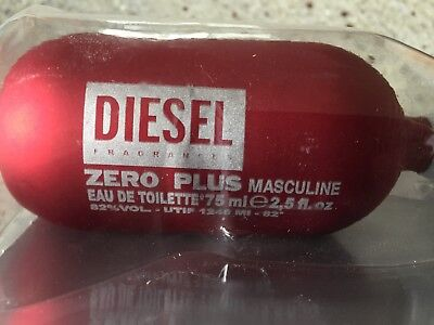 Diesel Zero Plus Masculine 75 ml Eau de Toilette Spray