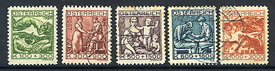 AUSTRIA 1924 Youth and Tuberculosis Charity used
