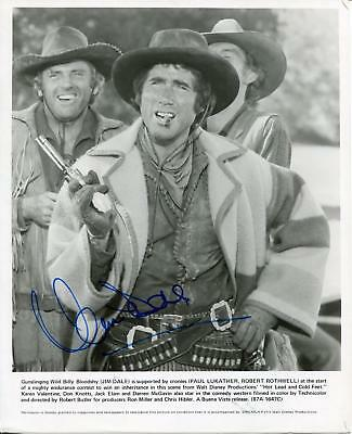 Jim Dale Actor In The Hunchback Of Notre Dame / Carry On Signed Photo Autograph