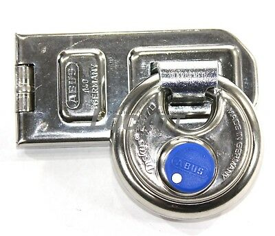 ABUS 140/120 Hasp - 24IB70 Hidden Shackle Disc Lock Made in Germany