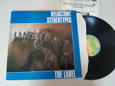 LP Regggae Reluctant Stereotypes - The Label (12 Song)  WEA UK Ska