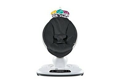 4moms mamaRoo 4 infant seat – Classic Black (Newest Model in Retail Box)