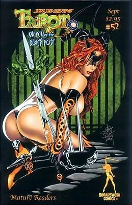 Tarot Witch of the Black Rose 52a Broadsword Jim Balent sexy NM FREE UK POST