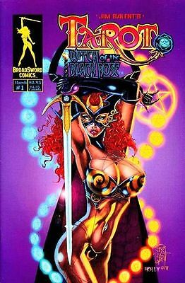 Tarot Witch of the Black Rose 1 a Broadsword Jim Balent NM FREE UK POST