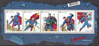Vc922 Canada #2677 Superman Ss            Buy 4 Or More Stamp Lots $3.00 S&h Max