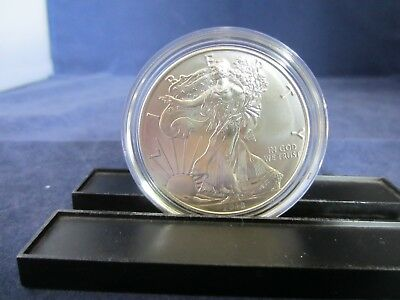 ONE 2018-W Silver American Eagle Dollar MS UNC BU West Point Mint ONE TROY OUNCE