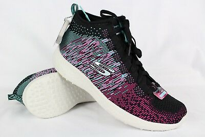 1b5f6b722944 New Skechers Women s Burst Sweet Symphony Air Cooled Memory Foam Size 8    12732