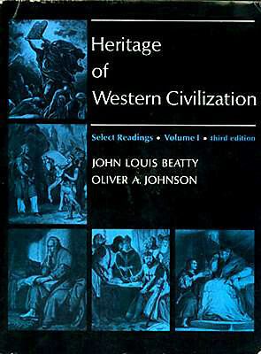 Heritage of Western Civilization 1st Hand Tales Greece Rome Near East Medieval