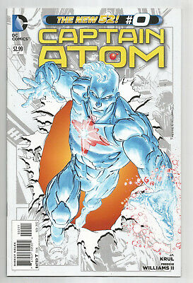 CAPTAIN ATOM * NEW 52 * LOT of 13 DIFFERENT *