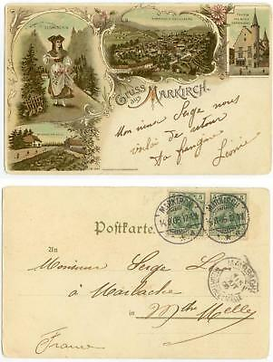 1906 Germany Gruss aus Markirch - cover