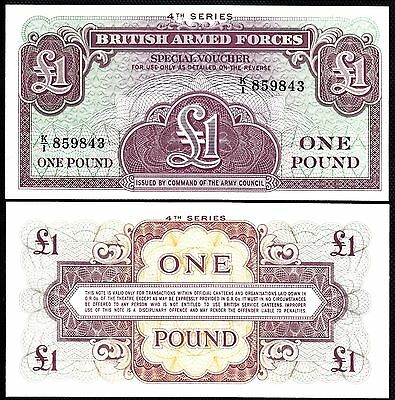 4th Series! MPC Britain P M36a Military Payment Currency Gr Uncirculated