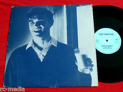 "THE SMITHS -What Difference Does It make- Rare Japanese 12"" and Lyric insert"