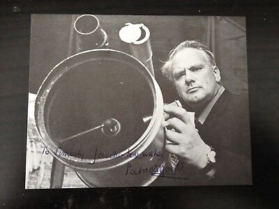 Patrick Moore - The Sky At Night Tv Show Presenter - Excellent Signed Photograph