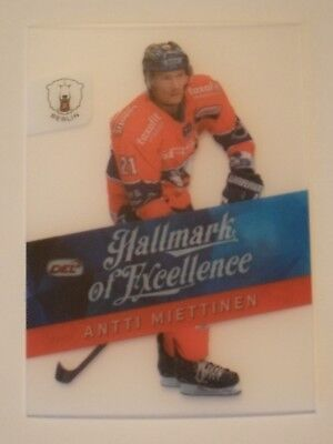 Del 14/15 Hallmark Of Excellence Antti Miettinen  Eisbären Berlin