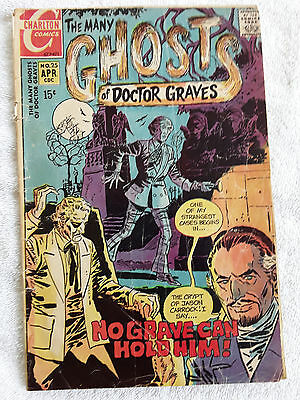 The Many Ghosts of Dr. Graves #25 (Apr 1971, Charlton) Vol #3 Good