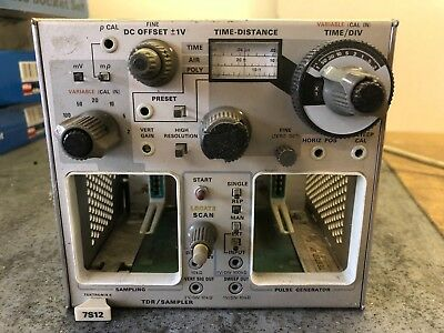 Tektronix 7S12 Tdr / Sampler Plug In Unit