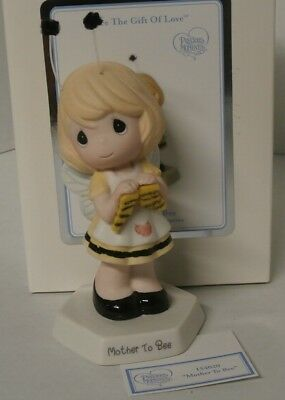 Precious Moments Mother to Bee - Girl Holding Socks - 154020 - New in Box