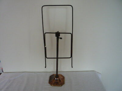 Vintage Adjustable Art Deco Shirt Book Stand Shop Window Display Chic Interior B