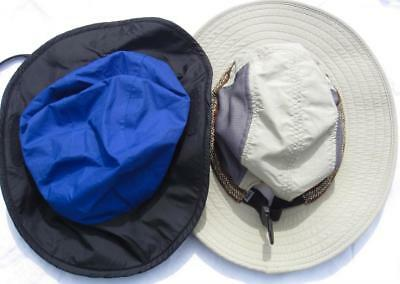 a2d4e03cb2e 2 REI Bucket SUN HATS Chin Strap   Breathable MEDIUM 7-10 Years Boy Child