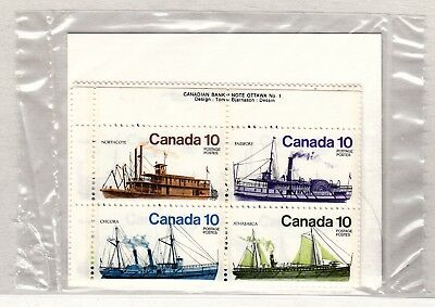 VC1016 CANADA #703a MS PLATE BLOCK STAMPS M NH   BIG DISCOUNT ON S&H 4 - 40 LOTS