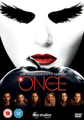 Once Upon a Time: The Complete Fifth Season DVD (2016) Jennifer Morrison cert