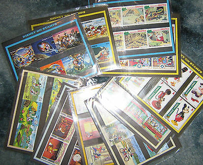 10 Different Packs of Disney Stamps A Nice Lot