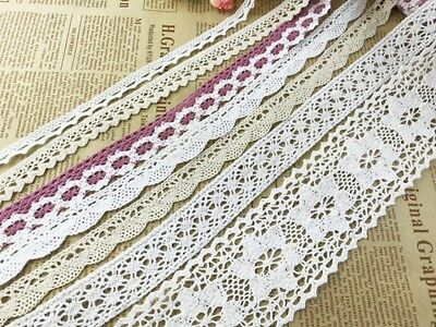 3Yards Delicate Vintage Cotton Crochet Lace Trim DIY/sewing/craft /Wedding Lace