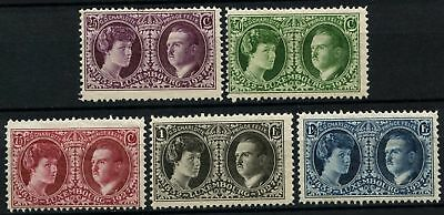 Luxembourg 1927 SG#261-265 Int. Philatelic Exhibition MH Set #D75248