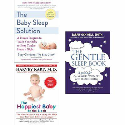 Gentle Sleep Book Happiest Baby on the Block Solution book 3 books collection