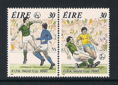 Ireland Eire mint stamps - 1990 World Cup Football Italy, SG770/771, MNH