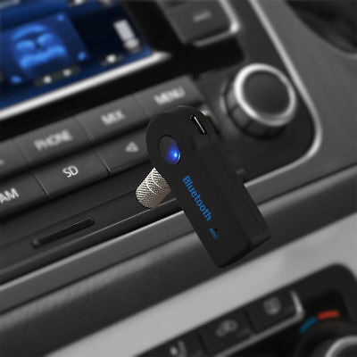 3.5mm AUX Wireless Bluetooth Car Music Receiver Adapter Audio Stereo Converter