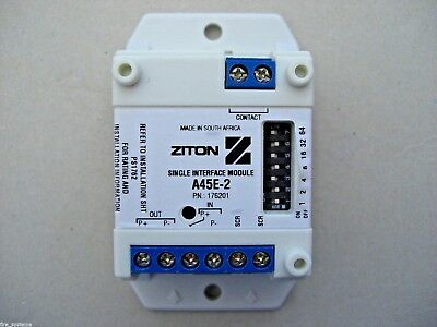 £21.60 Ziton A45E-2 Addressable Single Input Module, GE Part number 99202