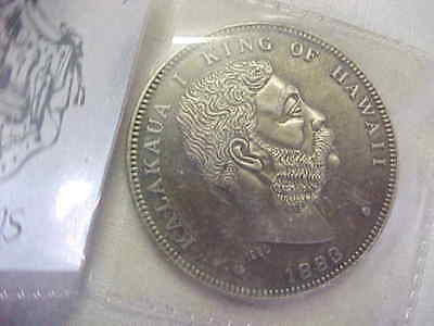 """1980  Re- Issue  Of """" 1883 Hawaii Coin """""""