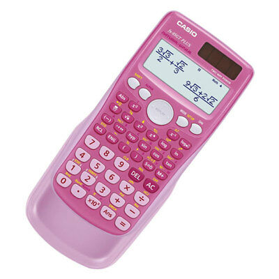 Casio FX-85GT PLUS-BU Dual Powered Scientific Calculator Pink K28-30