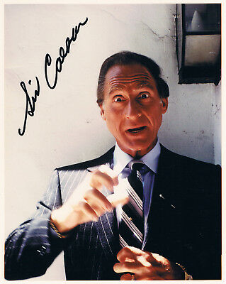 "Sid Caesar 1922-2014 genuine autograph 8""x10"" photo signed IN PERSON"