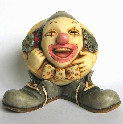 MPS Harmony Kingdom: Gigglees: Small Rocking Clown / Circus Figurine Just Joking