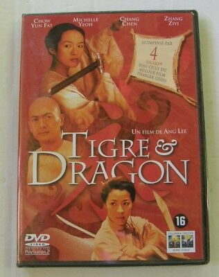 DVD TIGRE ET DRAGON - Chow YUN FAT / Michelle YEOH - Ang LEE - NEUF